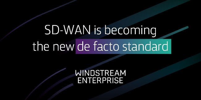 SD-WAN is becoming the new de facto standard