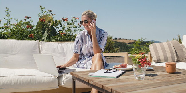 Work-life balance with unified communications