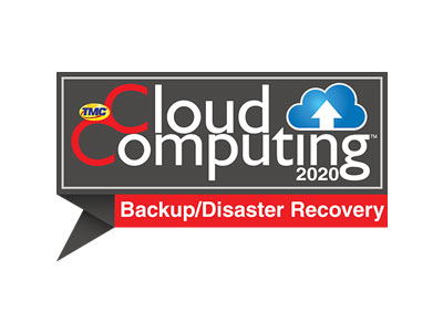 2020 Cloud Computing Backup & Disaster Recovery Award