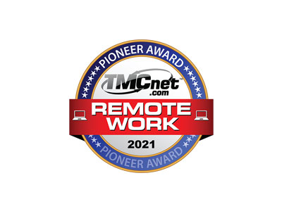 2021 TMCnet Remote Worker Pioneer Award